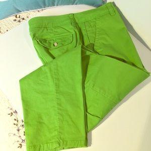 Liz Claiborne Green pants
